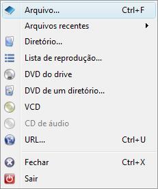 smplayer inicio abrir arquivo